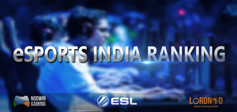 Official India e-Sports Ranking