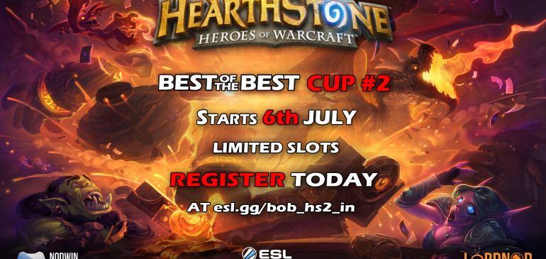 Best of the Best Hearthstone Cup 2