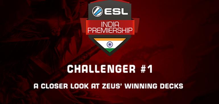 A closer look at Zeus' winning decks from the Hearthstone Challenger #1
